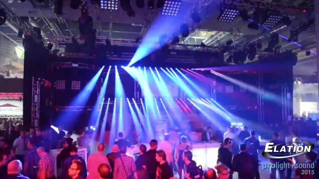 elation prolight sound 2015 light show