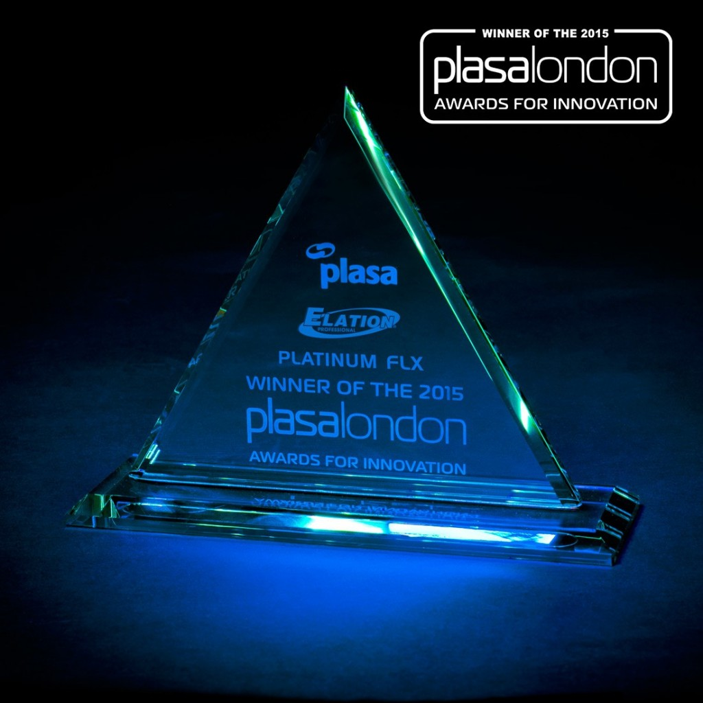 elation platinum flx plasa award 1
