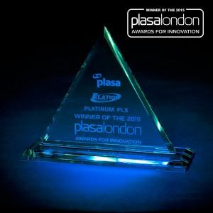 elation platinum flx plasa award 1