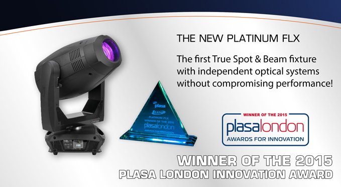 elation platinum flx plasa award 3