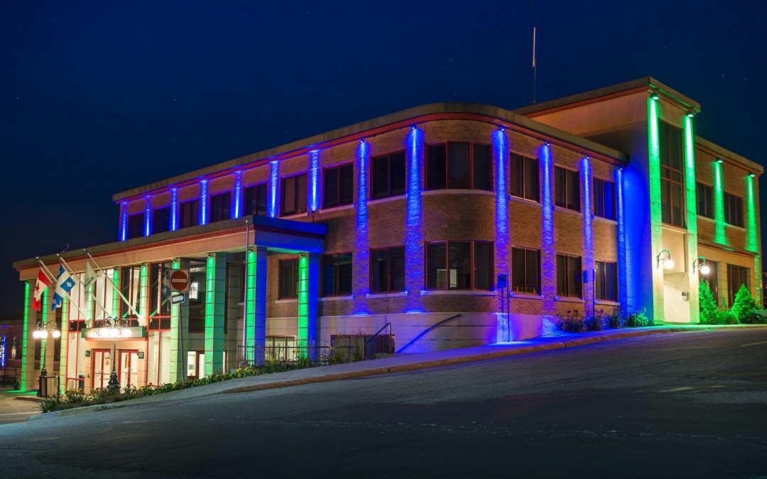 elation news: Rouyn-Noranda City Hall